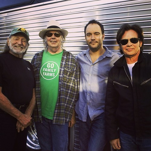 Get ready to see Willie, Neil, John and Dave in Raleigh on September 13! Pre-sale tickets go on sale at noon EDT today!