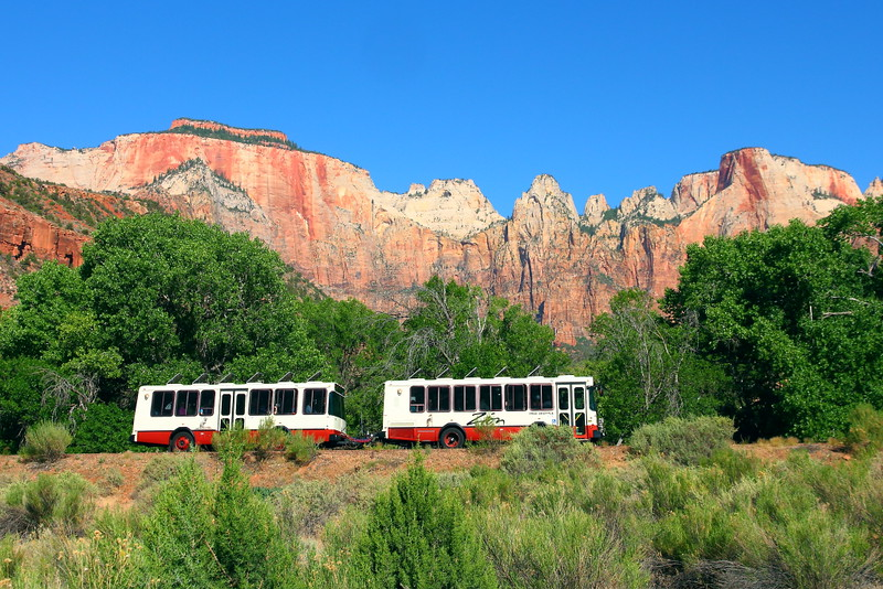 IMG_1970 Shuttle Bus, Zion National Park