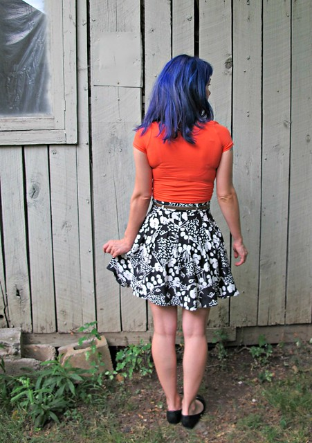 Kitty Cat Zinnia + Nettie Crop Top