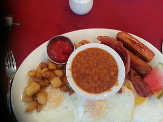 The Senator breakfast at the Rodd Hotel, PEI, Canada.