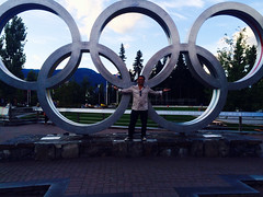 At Whistler Olympic Park