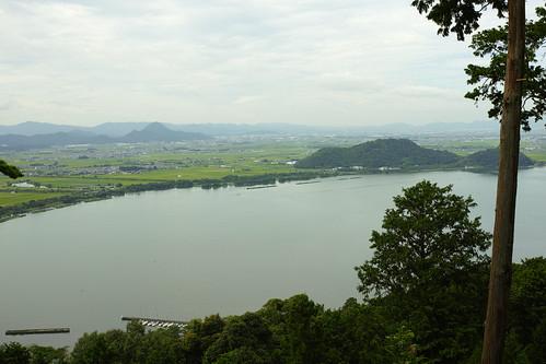 長命寺から琵琶湖