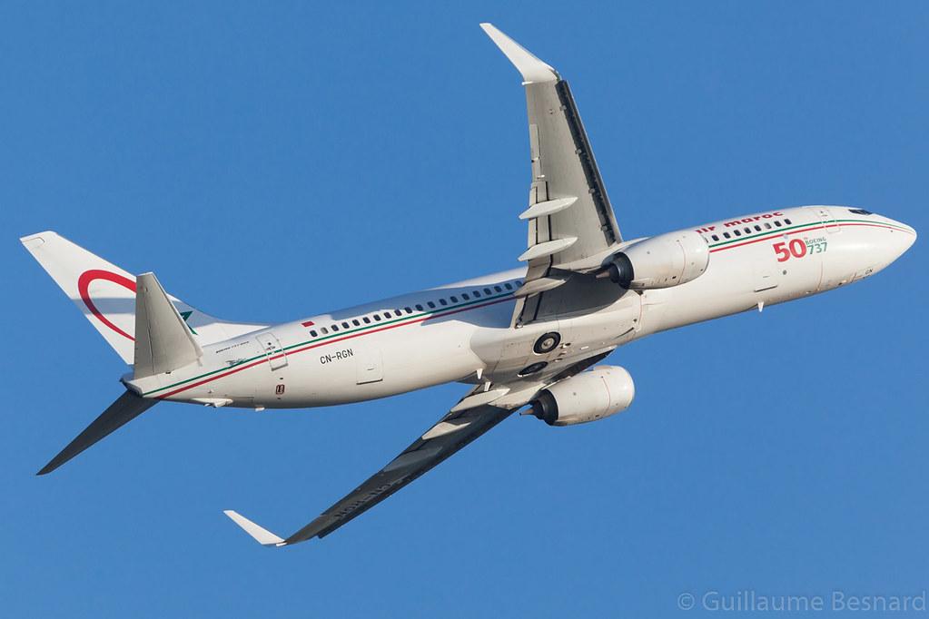 CN-RGN - B738 - Royal Air Maroc