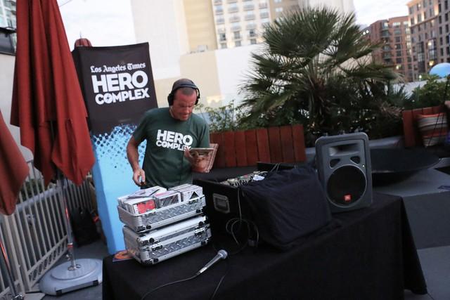 LA Times Hero Complex party at San Diego Comic-Con 2014