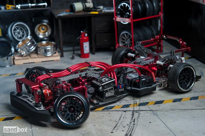MST FXX-D VIP RWD Chassis Setup on Aphalt Rebuild RC Drift 14823928910_950e5b70a8_c
