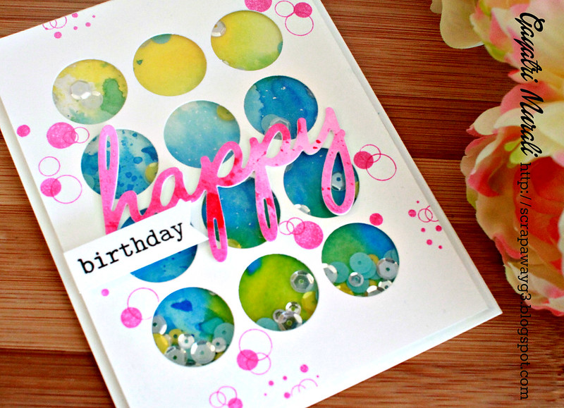 PPP Birthday card closeup