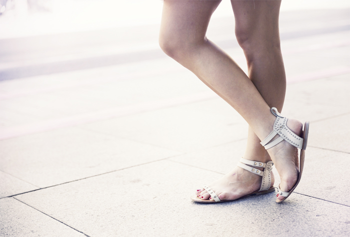 street style barbara crespo floral embroidery dress 6ks fashion blogger outfit blog de moda