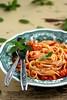 Kreveti-tšillikastmes pasta / Linguine with shrimp and chili