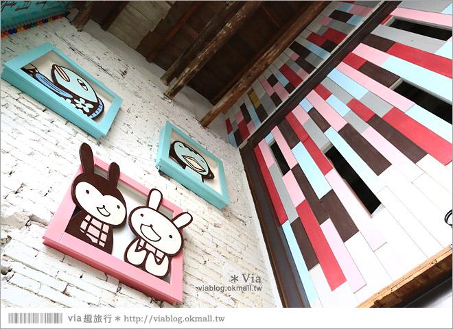 【阿朗基咖啡】台南店開幕囉!台南老屋餐廳推薦~老屋改造+可愛療癒系的新餐廳5