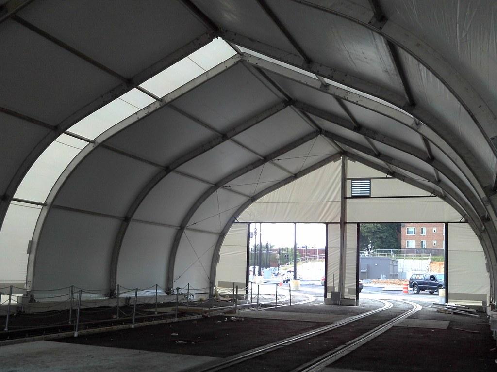 CBTC tent structure