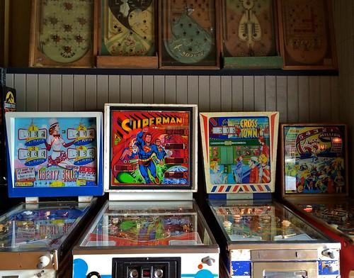 Spring Lake Penny Arcade - Burrillville RI - Pinball Games