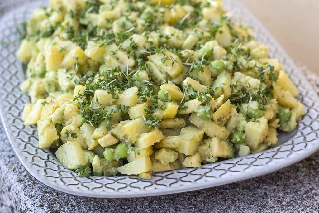 Kartoffelsalat med avokado, citron og karse  (6)