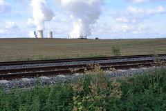 Bahnstrecke im Rheinland