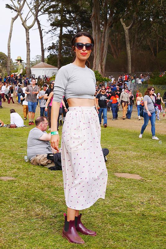 greycrop street style, street fashion, women, San Francisco, Quick Shots, Golden Gate Park, outside lands