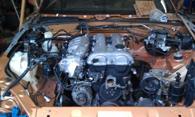 MM 00 EVO Engine Install 7