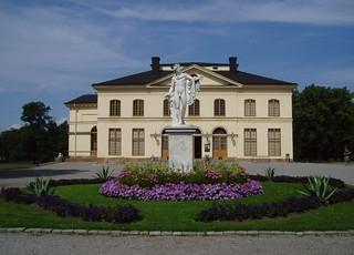 Изображение Drottningholm Palace Theatre. theatre stockholm drottningholm