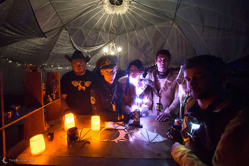 The Blight Tanker Bar — Burning Man 2014