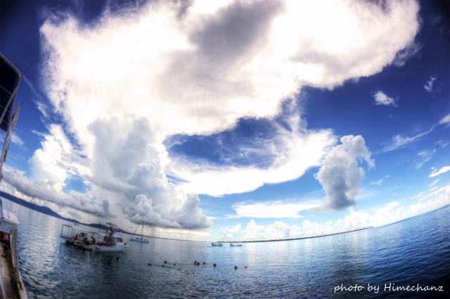 今日も積乱雲がスゴかった!石垣島。。