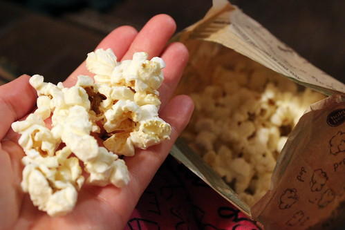 Graze's Lightly Salted Popcorn