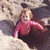 Beach day today.  Happy weekend! #laborday #beach #babygirl #sand