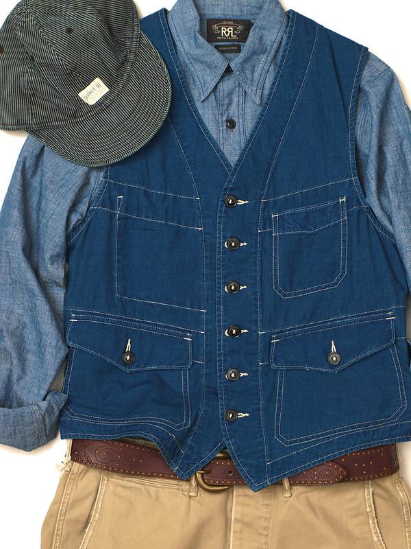 RRL / Bernard Work Vest