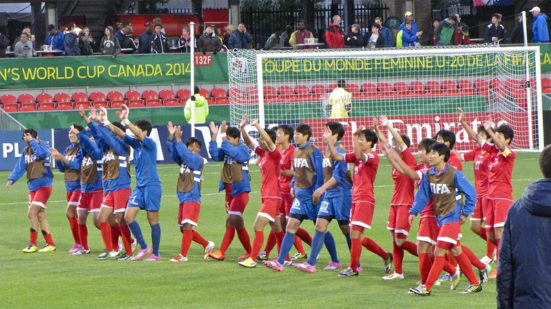 North Korea vs USA, U-20 Women's World Cup - Winners' Bow