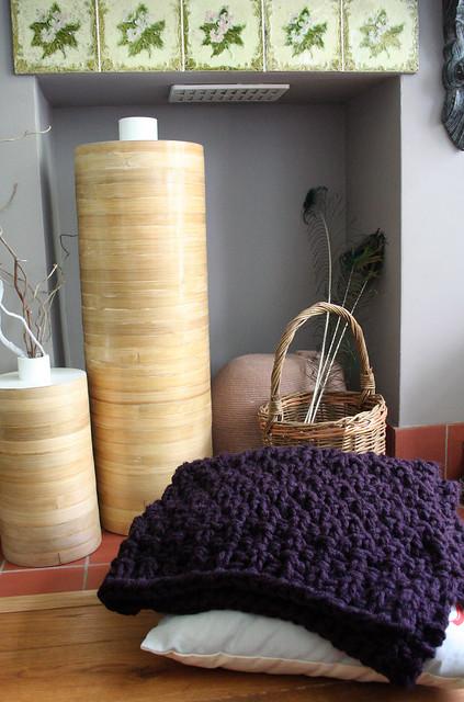 Handmade Knitted Rug