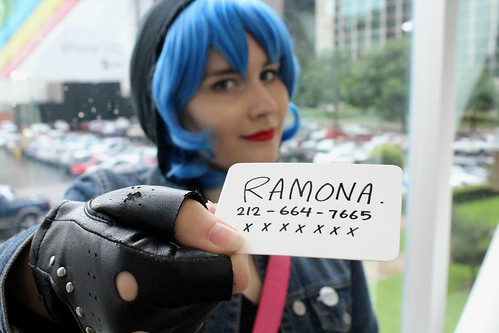 Ramona Flowers - Anime Fest 2014