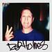 Pete Holmes by Portroids Polaroid Portraits