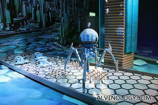 Scene from Star Wars: The Clone Wars