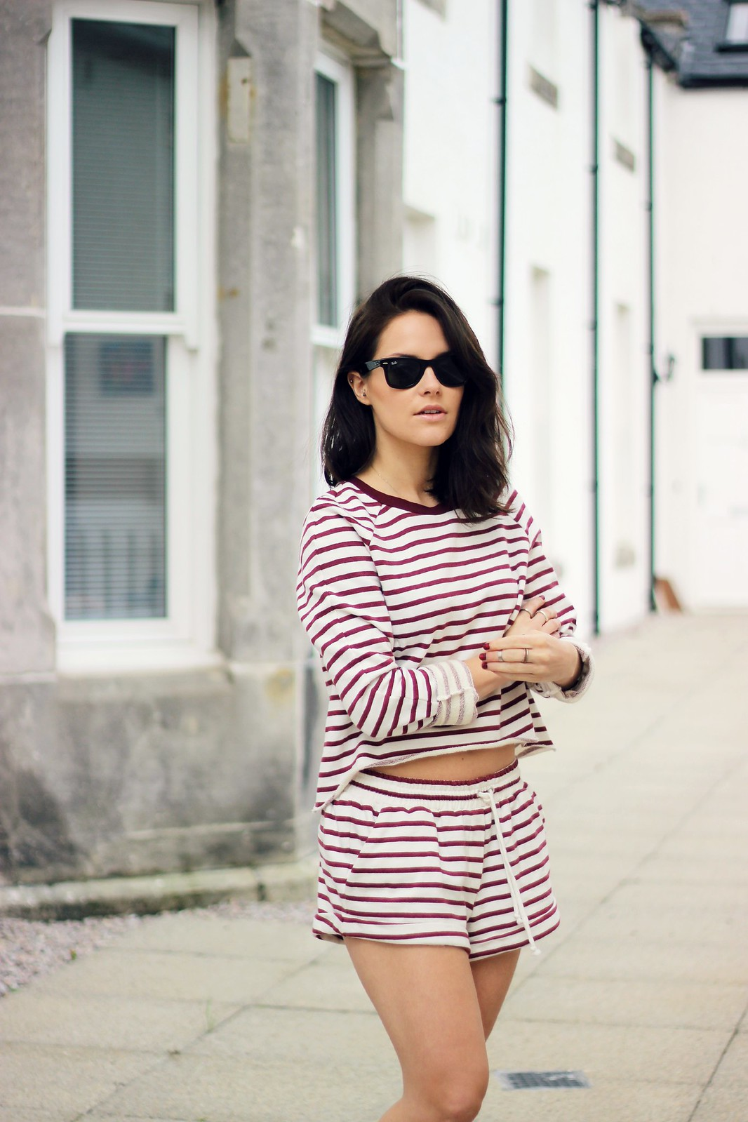 The Fifth Label stripe two piece 3