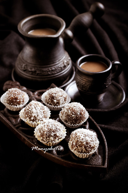 Homemade sweet balls