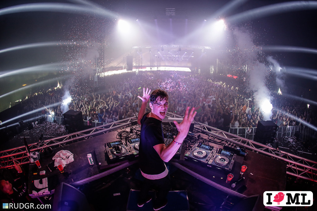 Martin Garrix is a happy man
