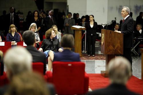 Lewandowski destaca atuação de Andrighi no aprimoramento da Justiça brasileira
