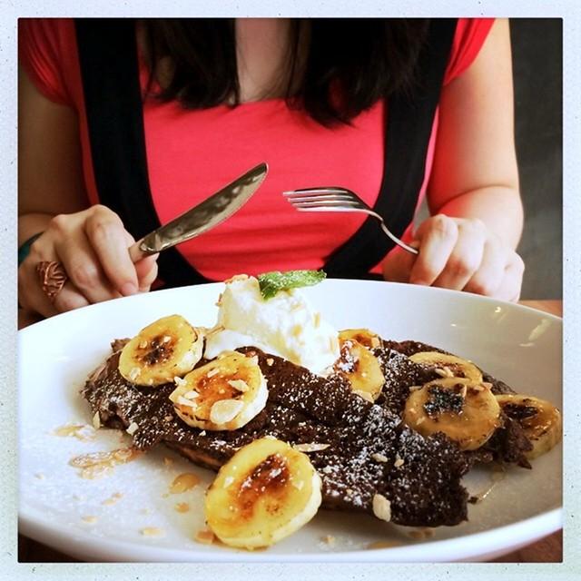Whimsical Gelateria & Cafe - publika - chocolate french toast