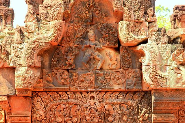 Siem Reap Cambodia Bantay Srei Temple