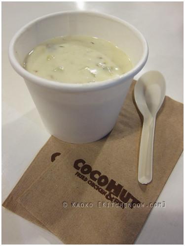 Cocohut Clam Chowder