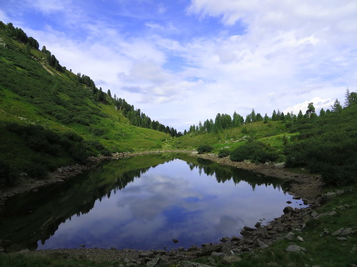 wood mountain lake berg clouds canon austria see österreich day tag wolken bäume steiermark hs styria tauern sx280 rottenmann rottenmanner canonsa280hs