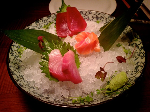 Mixed Sashimi at Flesh & Buns, Covent Garden