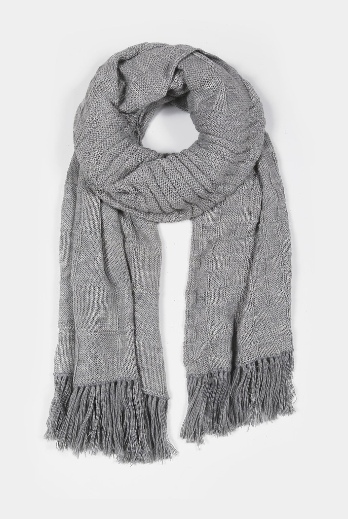 Vega Light Grey Scarf