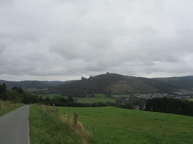 Ein erster Ausblick auf die Bruchhausener Steine.
