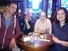 """New Deck Tavern 1st place Quizo winners """"Logjammin"""""""