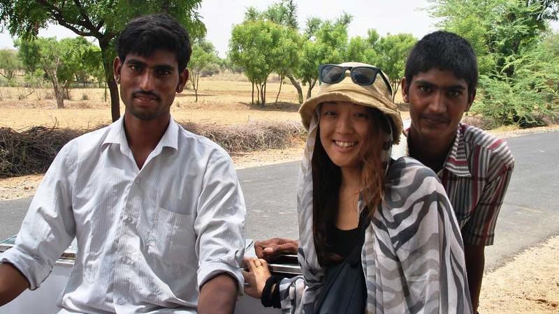 408 way to Merta. Peoples of desert in Rajasthan (5)