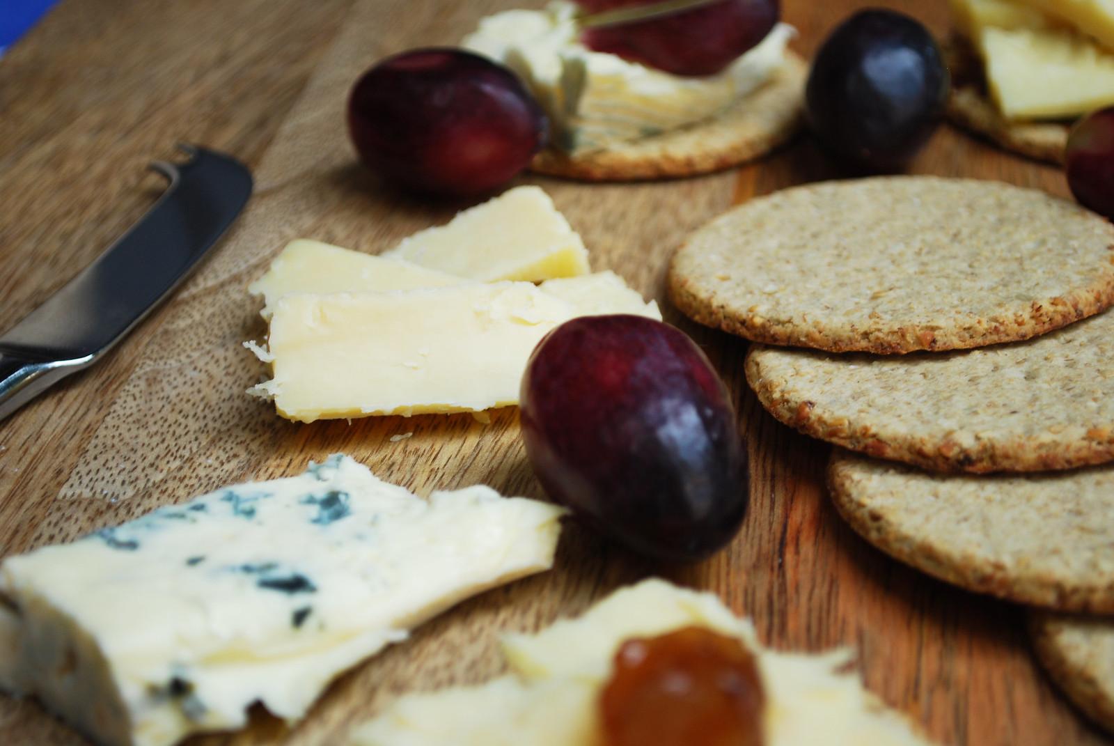 oatcake cheese platter