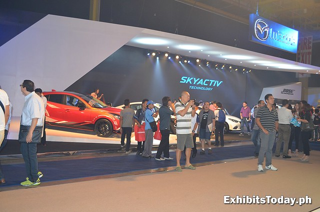 Mazda Skyactiv Trade Show Display