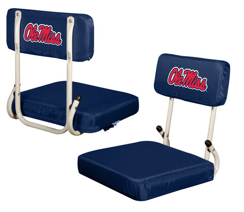Ole Miss Rebels Hard Back Stadium Seat