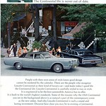 1967 Lincoln Continental Advertisement National Geographic April 1967