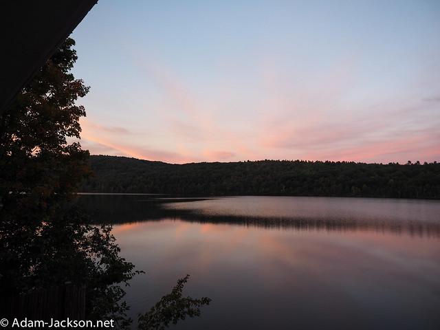 Fall Sunset - New Hampshire