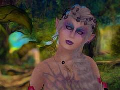 Gwyneth in the Garden