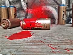 Graffiti Murder in a Baltimore Studio